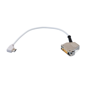 Interface cable for suction electrodes (male)